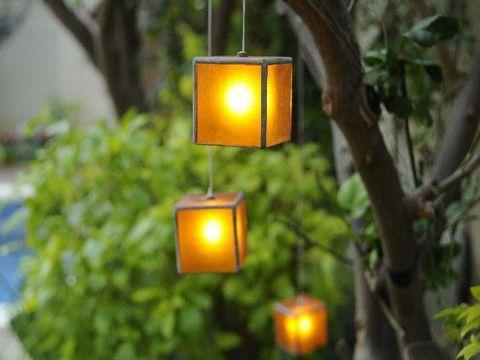 תאורה נעימה בגינה פרטית
