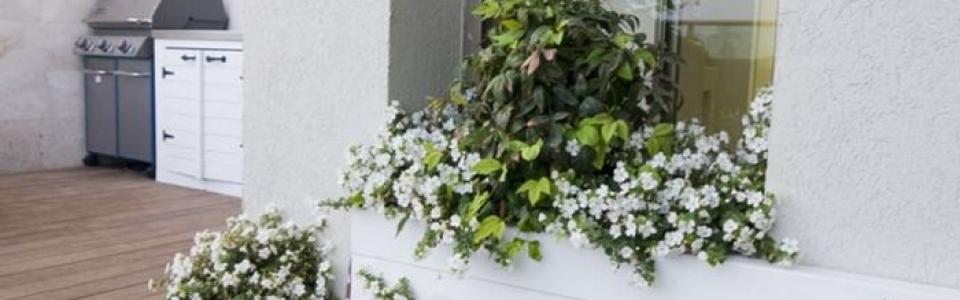 עיצוב גינות במרפסת הבית