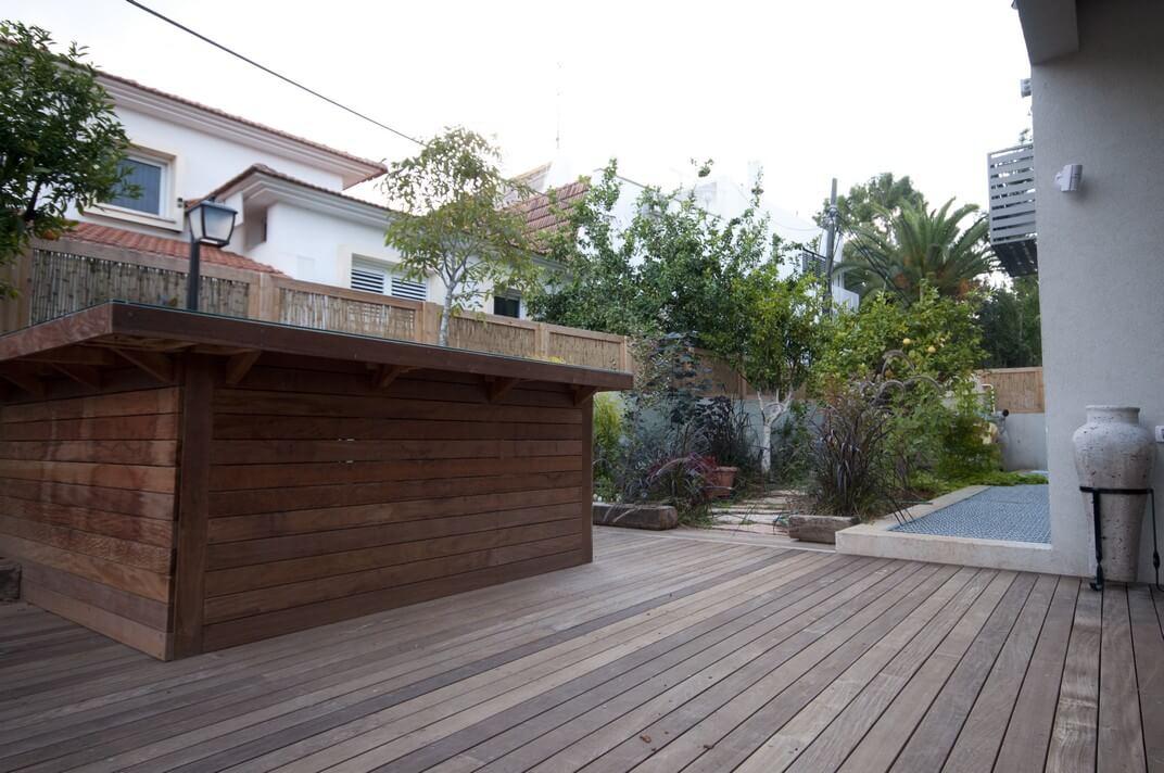 עיצוב הגינה הפרטית של שלומית וגיל
