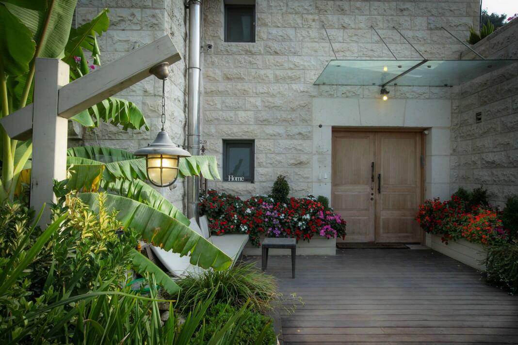 עיצוב הגינה של לאה