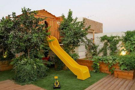 גינת גג משפחתית ברמת גן
